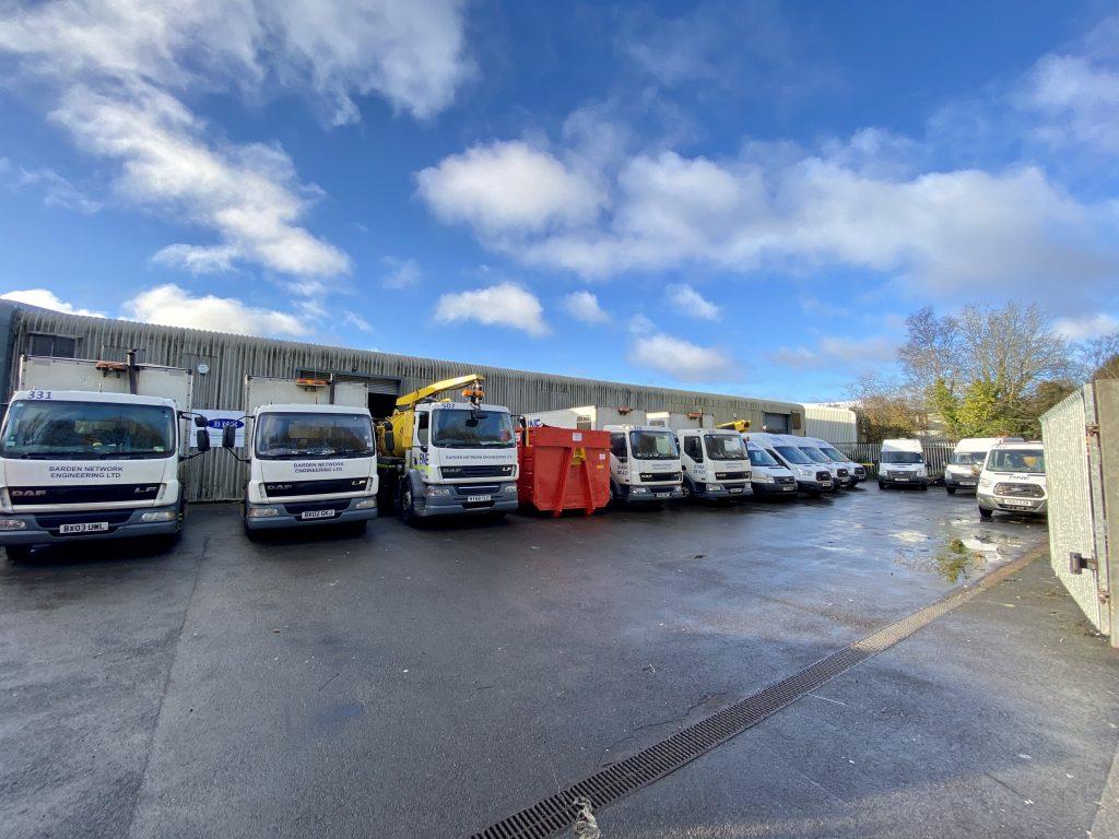 Barden Network Depot Wales Lorries