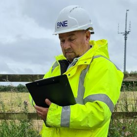 Cable installation survey of environment