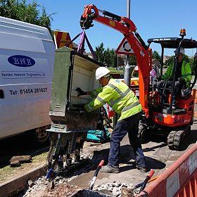 BNE excavator work activities